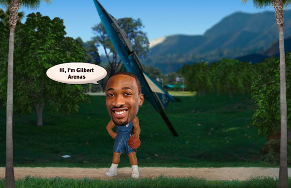 Gilbert Arenas - Fishbucket